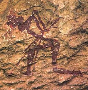 Rock art of the Iberian Mediterranean Basin - Figure from Valltorta