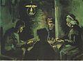 """Van Gogh - Vier Bauern beim Essen (Erste Studie zu den """"Karoffelessern"""").jpeg"""