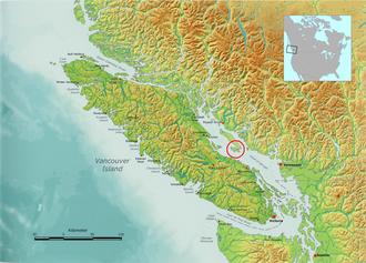 Lasqueti Island - Location of Lasqueti Island