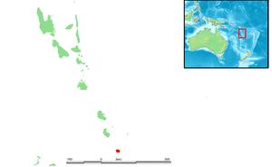 Aneityum - Location