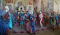 Varallo, Sacra monte, Cappella 34-Pilate washes his hands 03.jpg