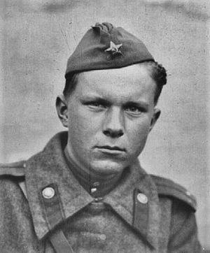Vasil Bykaŭ - Vasil Bykaŭ in Romania, 1944