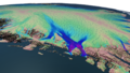 Velocity flow over the Nioghalvfjerdsbrae Glacier.tif