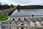 Venford Dam and spillway
