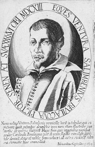 Ventura Salimbeni - Engraving by Bernardino Capitelli