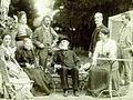 Verdi & friends-Santa-Agata garden-1890.jpg