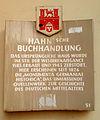 Verlag Hahnsche Buchhandlung Hannover Altstadt Leinstraße 32 Roter Faden Tafel 51.jpg