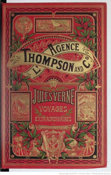 File:Verne - L'Agence Thompson and C°, Hetzel, 1907.djvu