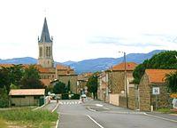 Vernosc-lès-Annonay, entrée du village 1.JPG