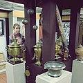 Vesyegonsk museum of local history - samovars (30222584294).jpg