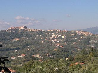 Vezzano Ligure - Image: Vezzano Ligure