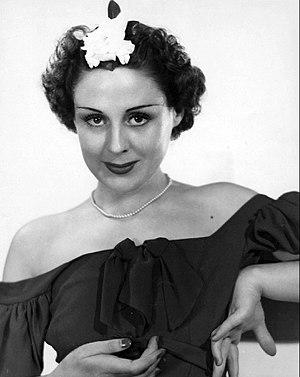 Vicki Vola - Vicki Vola in a 1937 radio publicity photo.