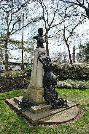 Victoria Embankment Gardens - Victoria Embankment Gardens, memorials to Sir Arthur Sullivan