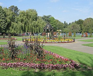 Canton, Cardiff - Victoria Park, Canton, in summer