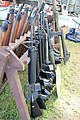 Victory Show Cosby UK 06-09-2015 WW2 re-enactment Trade stalls Militaria personal gear replicas reprod.originals zaphad1 Flickr CCBY2.0 Misc. machine guns weapons etc IMG 3874.jpg