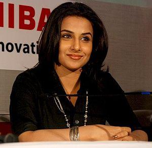 Vidya Balan at a function where she was named ...