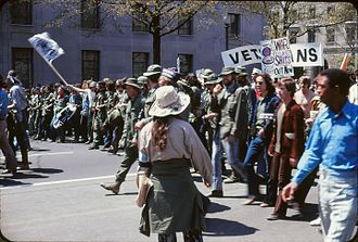 Mass surveillance in the United States - Image: Vietnam War protest in Washington DC April 1971