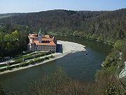 View Abbey Weltenburg Danube.JPG