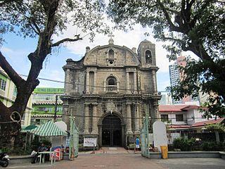 San Pedro Macati Church Church in Makati, Philippines