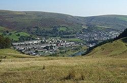 View of Pontycymer from Waun Tynewydd - geograph.org.uk - 985703.jpg