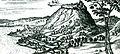 View of Visegrad, engraving after the drawing of Jakob Hufnagel, 1597-98, Köln.jpg