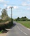 View west along Gosmoor Lane - geograph.org.uk - 1266919.jpg