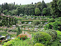 Villa san michele, giardino est 12.JPG