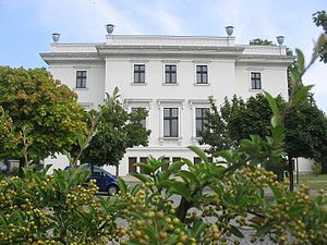 Prussian Cultural Heritage Foundation - Domicile of the president and the administrative center in Berlin-Tiergarten