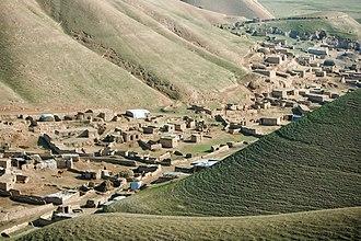 Faryab Province - A village in Faryab province