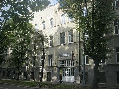 How to get to Vilniaus Technologijų ir Verslo Profesinio Mokymo centras with public transit - About the place