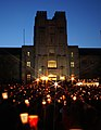 Virginia Tech massacre candlelight vigil Burruss.jpg