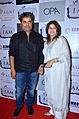 Vishal Bhardwaj,Rekha Bhardwaj From The SRK, Urmila, Juhi & Chitrangda at 'I Am' National Award winning bash (17).jpg