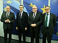 Visit of Ömer Çelik, Turkish Minister for European Union Affairs, at the EC (31194876562).jpg