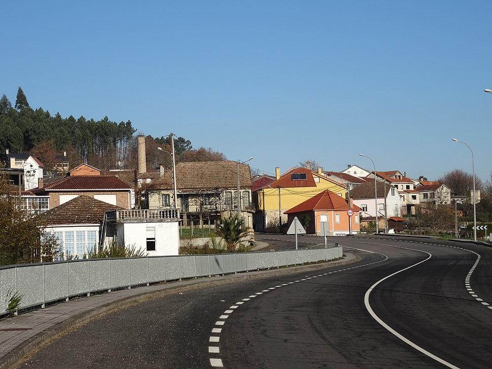 Vista Vilavidal, Santo André de Penosiños, Ramirás 2