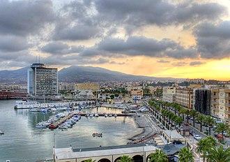 Melilla - Port of Melilla
