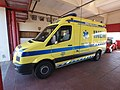 Volkswagen ambulance of the fire department of Santa Comba Dao, Portugal pic.JPG