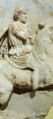 Votive relief of Hellenistic ruler on horse-back (Demetrios Poiorketes).png