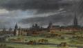 Vue de la marche de l'armée du roi sur Courtray, qui fut prise le 18 juillet 1667 (detail 2).png
