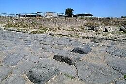 Strada romana a Vulci