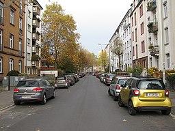 Würzburger Straße in Frankfurt am Main