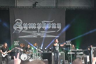 Symphony X - Symphony X performing at Hellfest, 2013