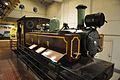 WG Bagnall 2-4-2 Pannier Tank Locomotive 2480 - 1933 - Martins Barasat-Basirhat Light Railways - Transport Gallery - BITM - Kolkata 2016-06-02 4054.JPG