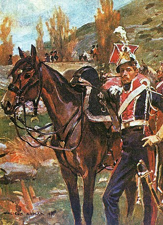 1st Polish Light Cavalry Regiment of the Imperial Guard - A Polish lancer