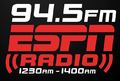 WTSV & WTSL 94.5 ESPN Radio Logo.png