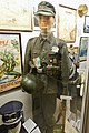 WW2 frontkjemper Norw. volunteer regiment Nordland Waffen SS uniform, songbook, Nazi decorations, helmet, etc Lofoten krigsminnemuseum Norway 2019-05-08 DSC0994.jpg