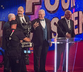 The Four Horsemen (professional wrestling) - The Four Horsemen being iducted into the WWE Hall of Fame in 2012