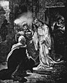 Wagner - Lohengrin - Ortrud kneeling to Elsa - from an old print - The Victrola book of the opera.jpg