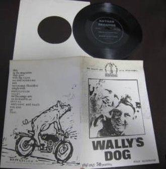 """Trixie's Big Red Motorbike - """"Wally's Dog"""" fanzine."""