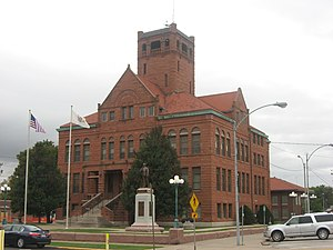 Warren County, Illinois - Image: Warren County Courthouse in Monmouth