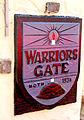 Warriors Gate plaque, Old Fort entrance, Durban.JPG